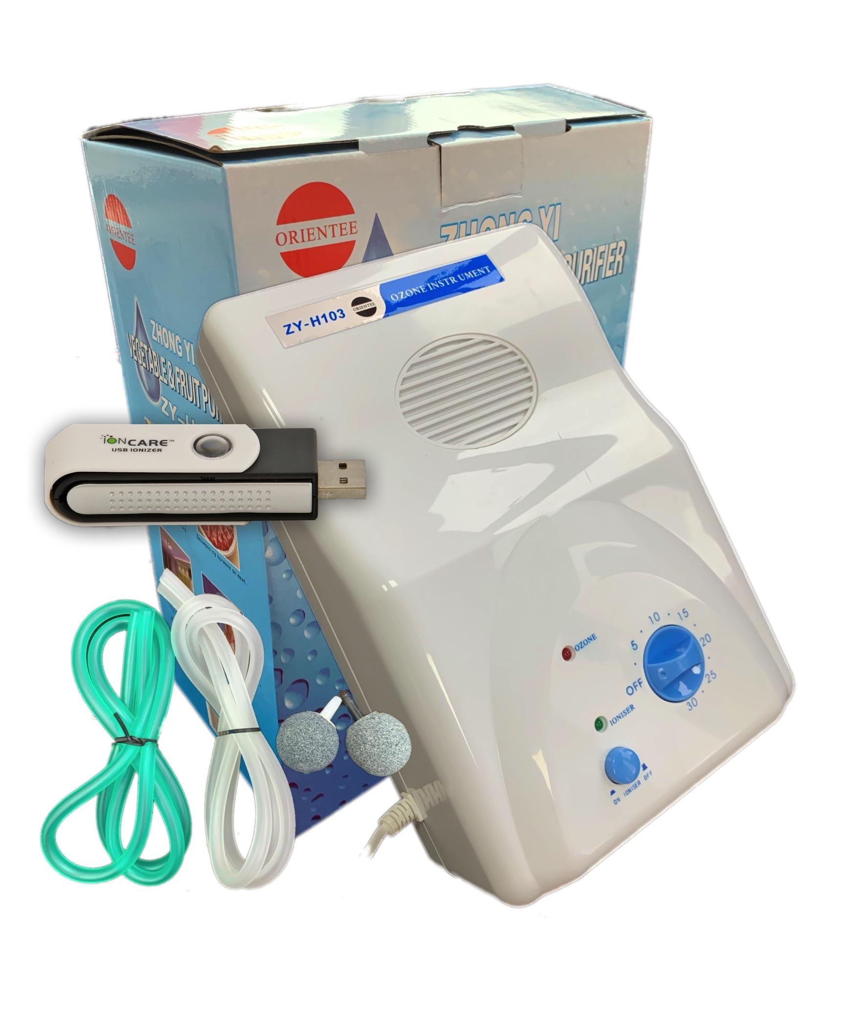 Domowy Ozonator Powietrza Zywnosci Wody Z Jonizatorem Zy H103