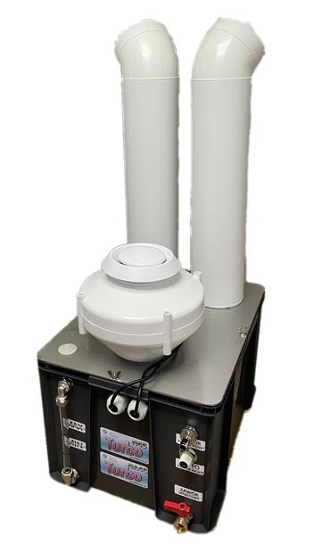 Turbo N45 MAX - Przemysłowy nawilżacz powietrza, zamgławiacz, generator aerozoli  (1)