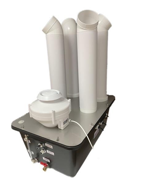 Przemysłowy nawilżacz powietrza, zamgławiacz, generator aerozoli Turbo N80